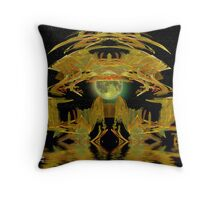 Temple of the Moon Throw Pillow