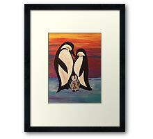 Arctic Penguin  Framed Print