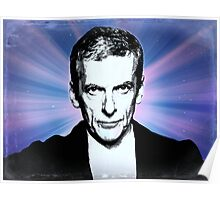 Dr Who Peter Capaldi Poster Sketch Poster