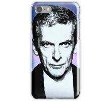 Dr Who Peter Capaldi Poster Sketch iPhone Case/Skin