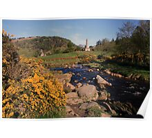Glendalough view Poster