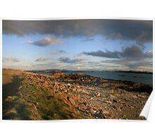 Renvyle coastline view Poster