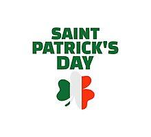 St. Patrick's day ireland flag Photographic Print
