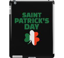 St. Patrick's day ireland flag iPad Case/Skin
