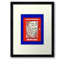 Vendetta Revolution Framed Print