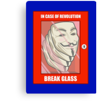 Vendetta Revolution Canvas Print