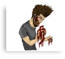 Zombie Punk! Canvas Print