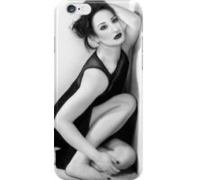 Anxiety 1 - Casting Shadows - Self Portrait iPhone Case/Skin