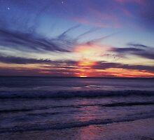 purple sunset by almasantam