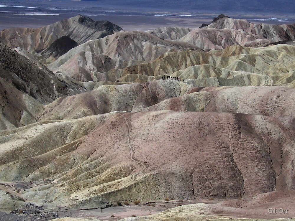 Zabriskie Point revisited by Gili Orr