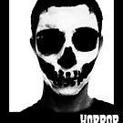 Horror Punk Skullface by MetalheadMerch