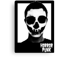 Horror Punk Skullface Canvas Print