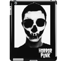 Horror Punk Skullface iPad Case/Skin