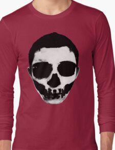 Horror Punk Skullface Long Sleeve T-Shirt