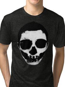 Horror Punk Skullface Tri-blend T-Shirt