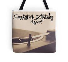 "Smokestack Lightning Apparel ""record player"" Tote Bag"