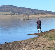 """On my own again"" (Lake Eucumbene) by eucumbene"