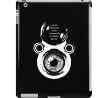 depth of feel iPad Case/Skin