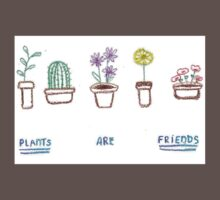 Plants are Friends (coloured) Kids Clothes