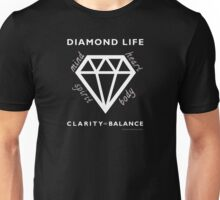 Diamond Life: Clarity ∞ Balance  Unisex T-Shirt