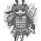 Panda Samurai by bykai