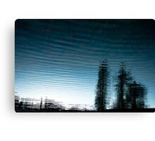 Tidal Trees Canvas Print
