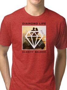 Diamond Life: Clarity ∞ Balance (boho style) Tri-blend T-Shirt