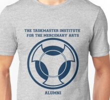 Taskmaster Institute Varsity Blue Unisex T-Shirt