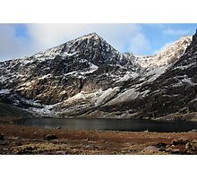 Carrauntoohil in winter Photographic Print