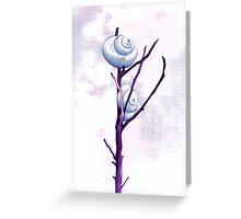 Top Snail Greeting Card