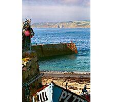 Sennen Quay Photographic Print