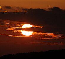 Lancashire Sunset by kroscoe