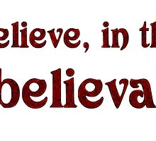 Believe… by Creativity for S4K