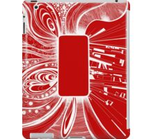 Mobile - Red iPad Case/Skin