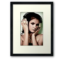 the symphony of sound Framed Print