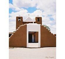 Adobe Church ©  Photographic Print