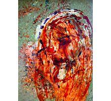 Jesus ( Wax artWork) Photographic Print