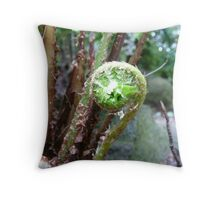 FernCurl Two Throw Pillow