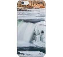 Wintry Waterfall iPhone Case/Skin