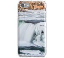 Wintry Waterfall iPhone Case/Skin