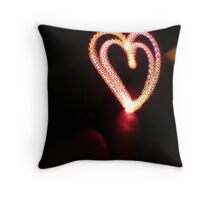 light hearted Throw Pillow