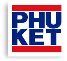 DMC PHUKET THAI FLAG Canvas Print
