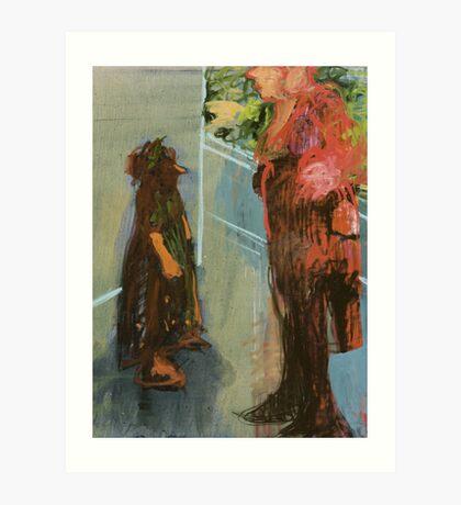 discussion Art Print