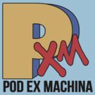 Pod Ex Machina Logo (Mtv Variant) by DarkNateReturns