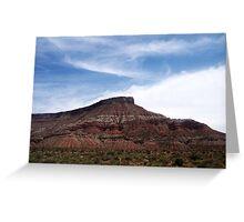 Nevada scenery: II Greeting Card