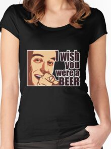 Beer t-shirt Women's Fitted Scoop T-Shirt