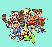 The smash kid crew by arcadecutie