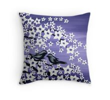 purple love Throw Pillow