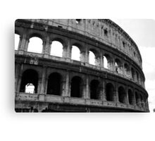 Before entering the Colosseum Canvas Print