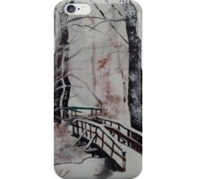 Winter Wonderland - Snow Scene iPhone Case/Skin